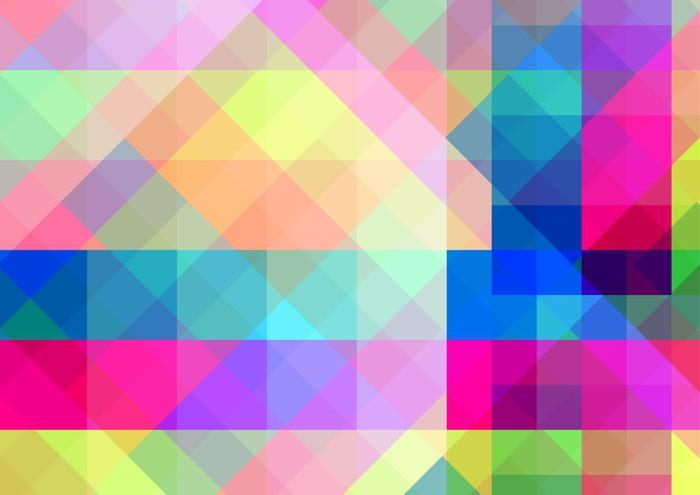 Fondos Abstractos De Colores: Vinilo Pixerstick Fondo Geométrico Abstracto Con Azulejos