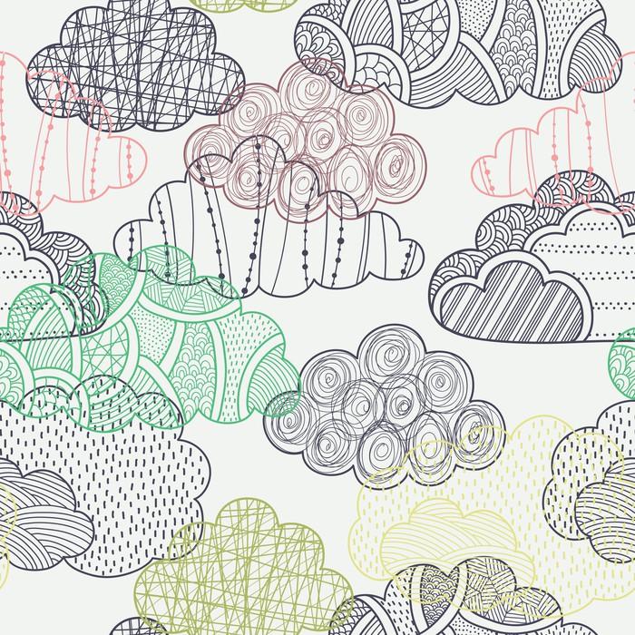 papier peint nuages seamless pixers nous vivons pour. Black Bedroom Furniture Sets. Home Design Ideas