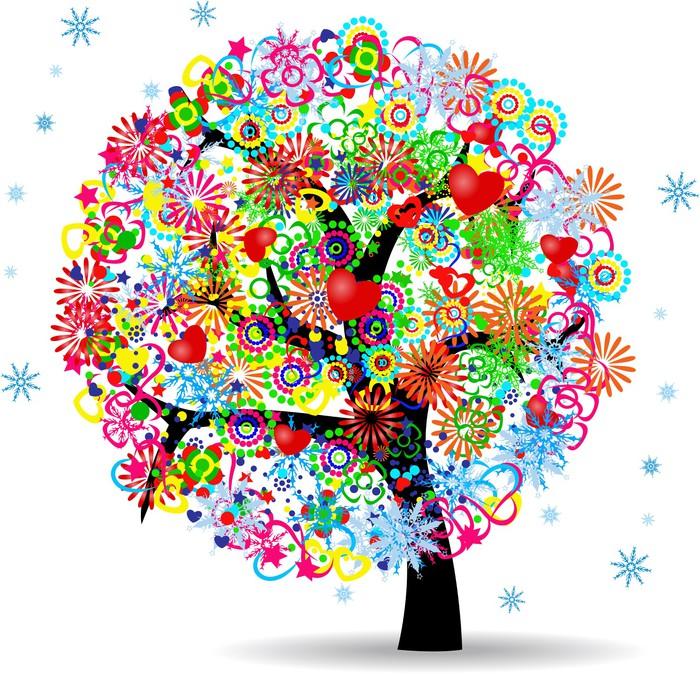 papier peint l 39 arbre de vie pixers nous vivons pour changer. Black Bedroom Furniture Sets. Home Design Ideas