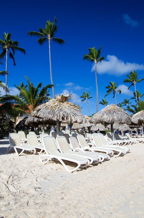 Vinylová Tapeta Caribbean beach - Roční období