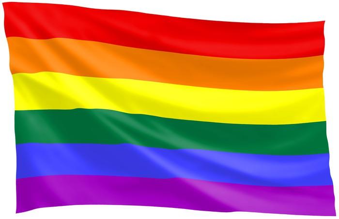 Vinylová fototapeta Gay pride flag - Vinylová fototapeta