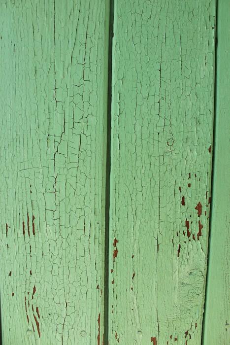 Vinylová fototapeta Stará deska s trhlinami a škrábanci - Vinylová fototapeta