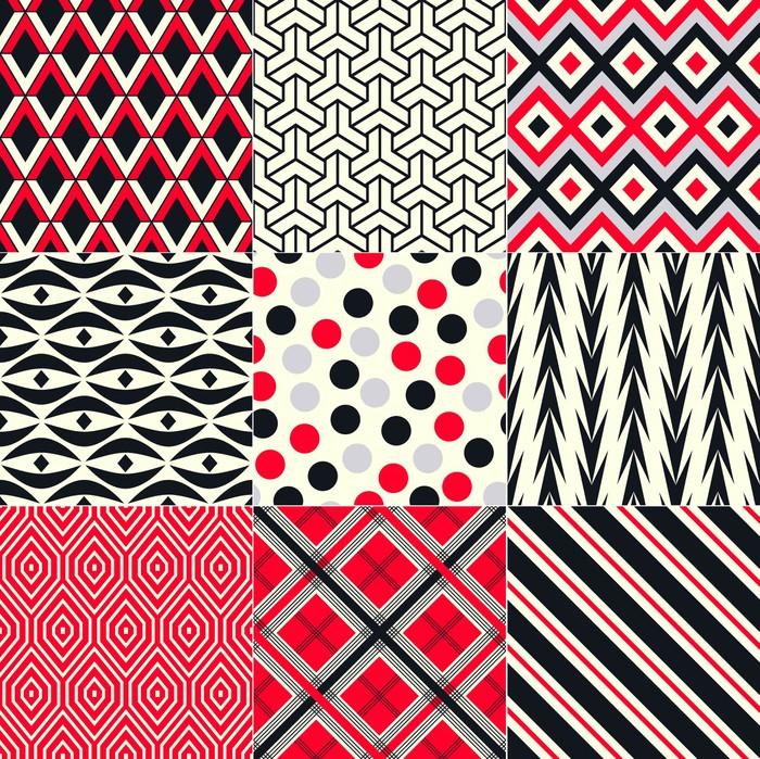 Vinylová Tapeta Bezešvé abstraktní geometrický vzor - Pozadí