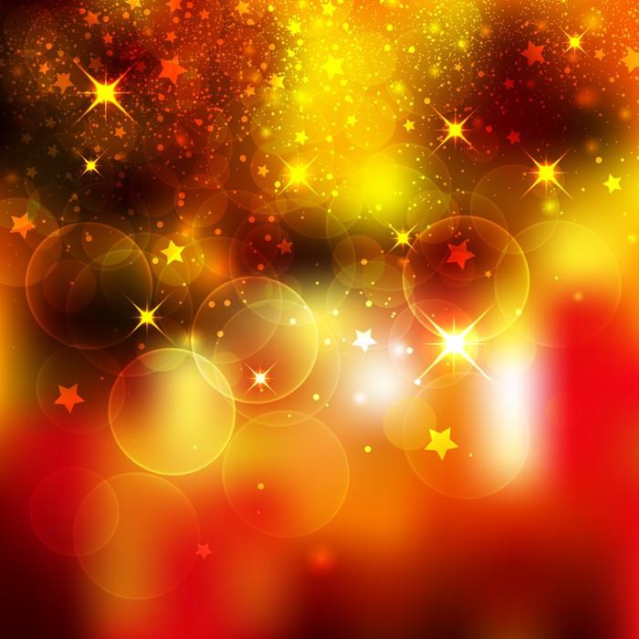 Fototapete Hintergrund, Weihnachten, Lichter, Stimmung, Funkeln ...