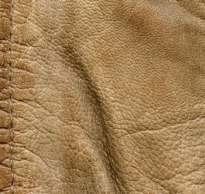 Vinylová Tapeta Zmačkaný kůže detailní textury, steh - Doplňky
