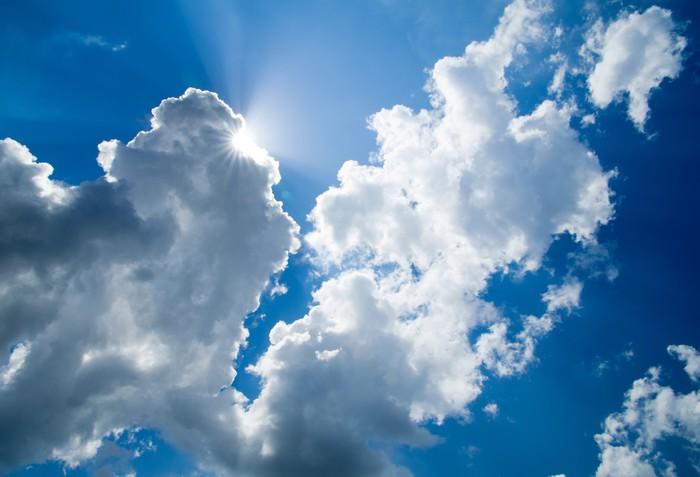 Vinylová Tapeta Nebe v pozadí - Nebe