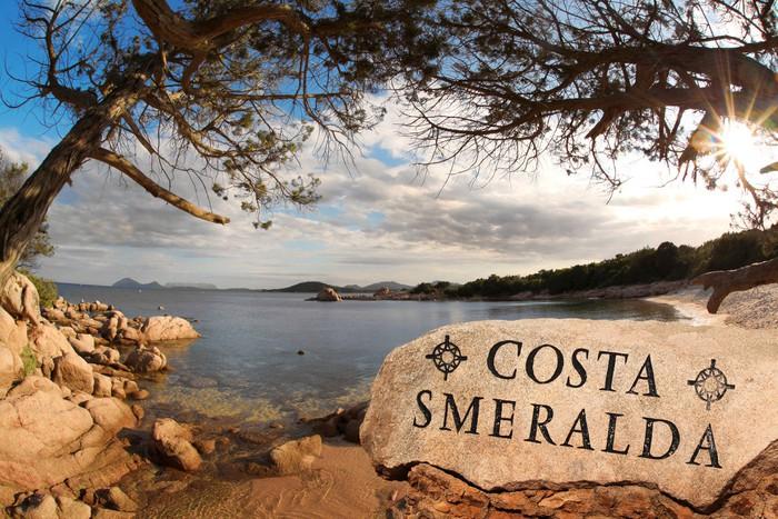 Vinylová Tapeta Ostrov Sardinie s azurovém pobřeží v Itálii - Roční období