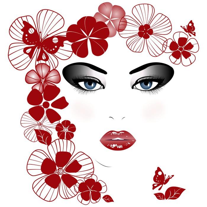 Vinylová Tapeta Krása - Životní styl, péče o tělo a krása