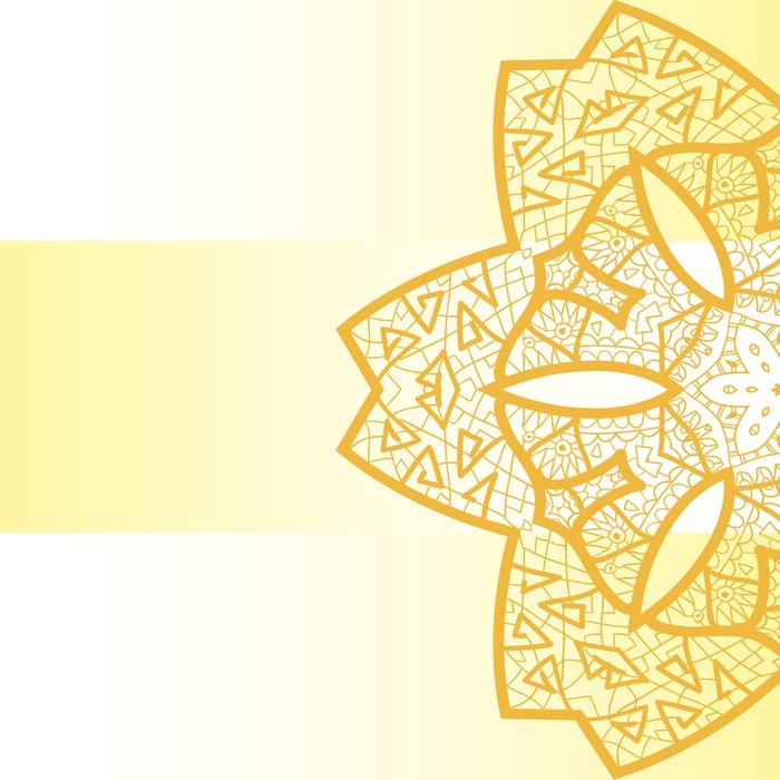 papier peint motifs oriental mandala motif pixers. Black Bedroom Furniture Sets. Home Design Ideas