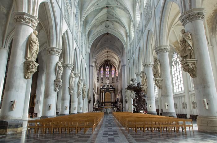 Vinylová Tapeta Mechelen - Nave sv Rumbold katedrály - Témata