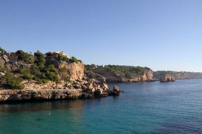 Vinylová Tapeta Creek, Mallorca - Prázdniny