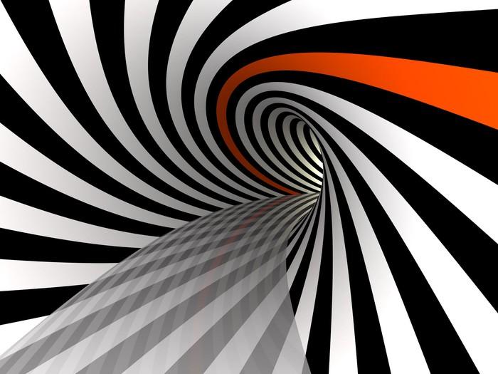 Vinylová Tapeta Tunel linky, 3D - Témata