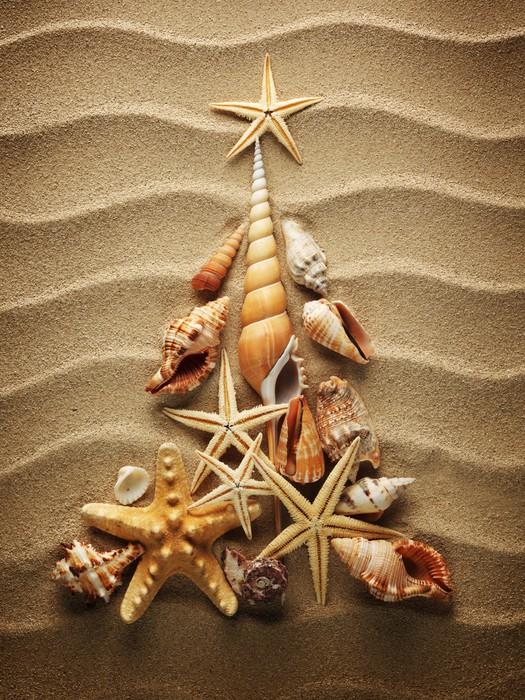 Vinylová Tapeta Sea shell písku - Mezinárodní svátky