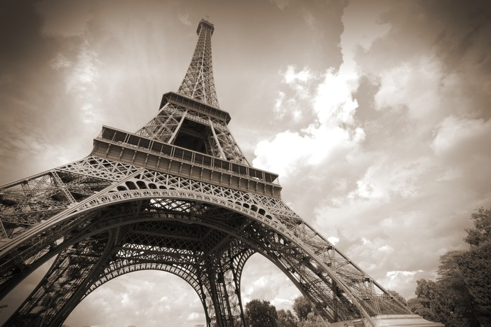 Eiffel Tower Wall Mural Pixers We live to change