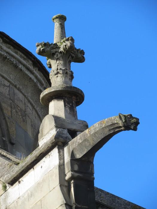 Vinylová Tapeta Calvados - Lisieux - Gargouille sur la cathédrale Saint-Pierre - Prázdniny
