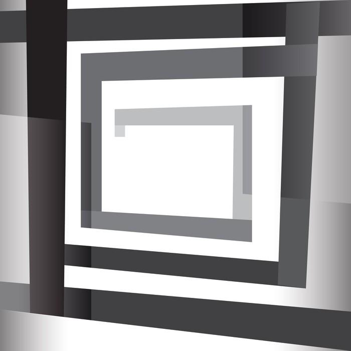 sticker effet d 39 optique pixers nous vivons pour changer. Black Bedroom Furniture Sets. Home Design Ideas