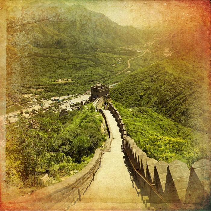 Vinylová Tapeta Velká čínská zeď - Asie