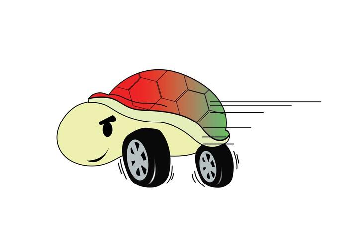 Vinylová Tapeta Turtle Racing - Ostatní Ostatní
