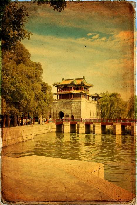 Vinylová Tapeta Letní palác v Pekingu - Yihe Yuan - Asijská města