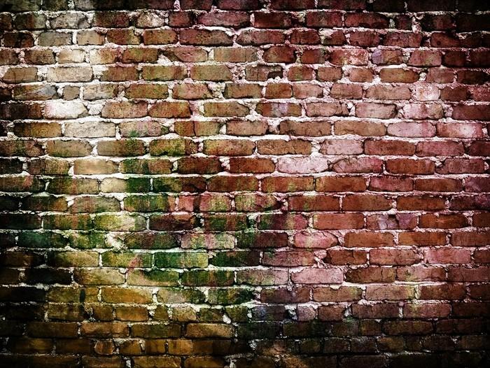 papier peint graffiti mur de brique pixers nous vivons pour changer. Black Bedroom Furniture Sets. Home Design Ideas