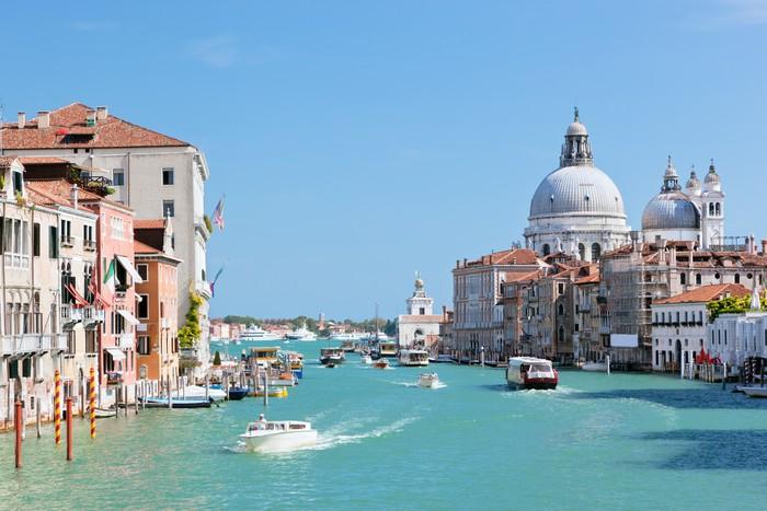 Vinylová Tapeta Benátky, Itálie. Grand Canal a bazilika Santa Maria della Salute - Témata