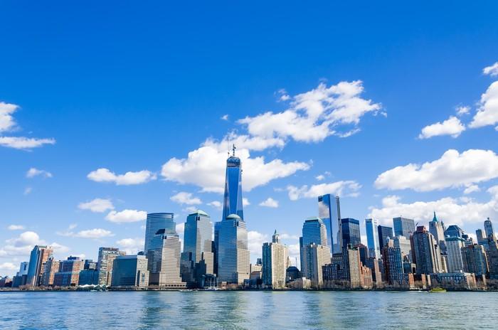 fototapete skyline new york pixers wir leben um zu. Black Bedroom Furniture Sets. Home Design Ideas