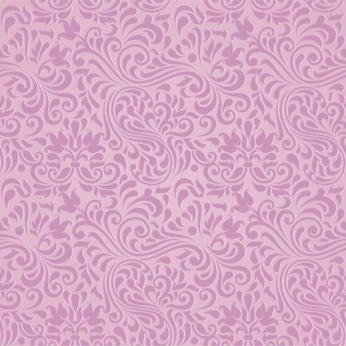 Vector Seamless Fl Pink Damask Pattern Wardrobe Sticker Styles