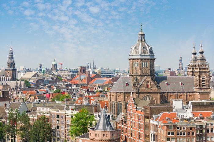 Nálepka Pixerstick Letní Amsterdam - Témata