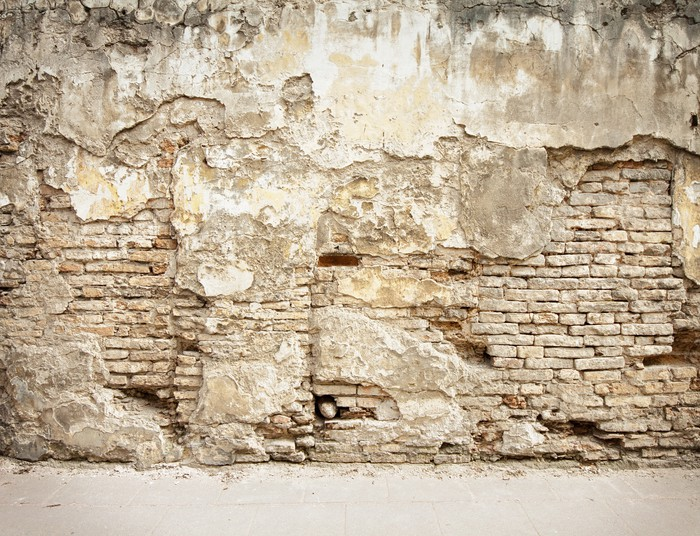 tableau sur toile mur de briques fond pixers nous vivons pour changer. Black Bedroom Furniture Sets. Home Design Ideas
