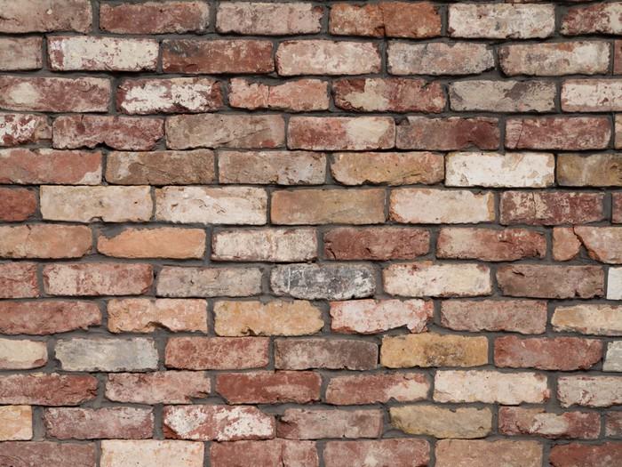 Carta da parati muri di mattoni pixers viviamo per il for Carta da parati effetto muro mattoni