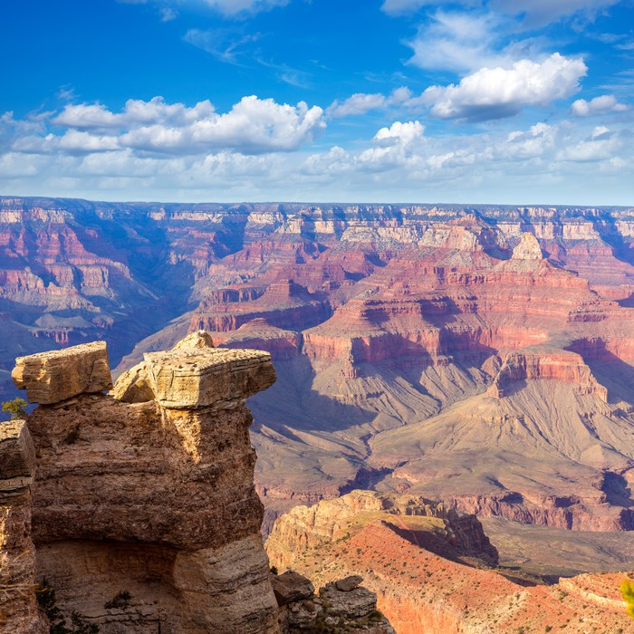 tableau sur toile parc national du grand canyon en arizona m re point tats unis pixers. Black Bedroom Furniture Sets. Home Design Ideas