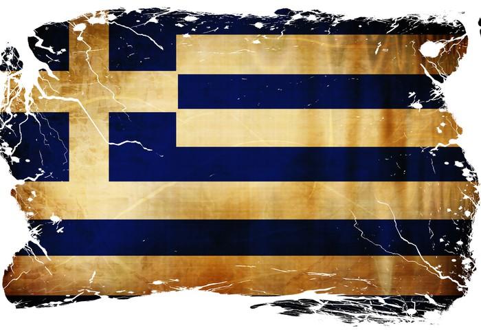 Fototapete Griechische Flagge Pixers Wir Leben Um Zu Verandern