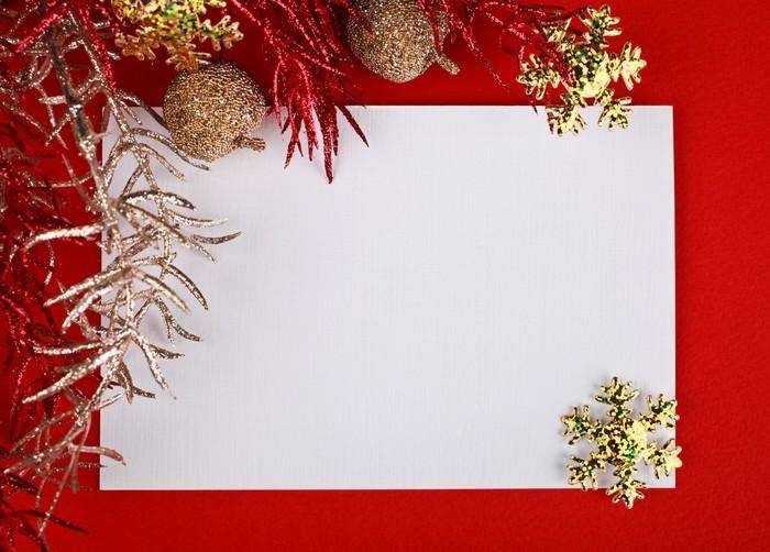 Vinylová Tapeta Christmas decoration - Mezinárodní svátky