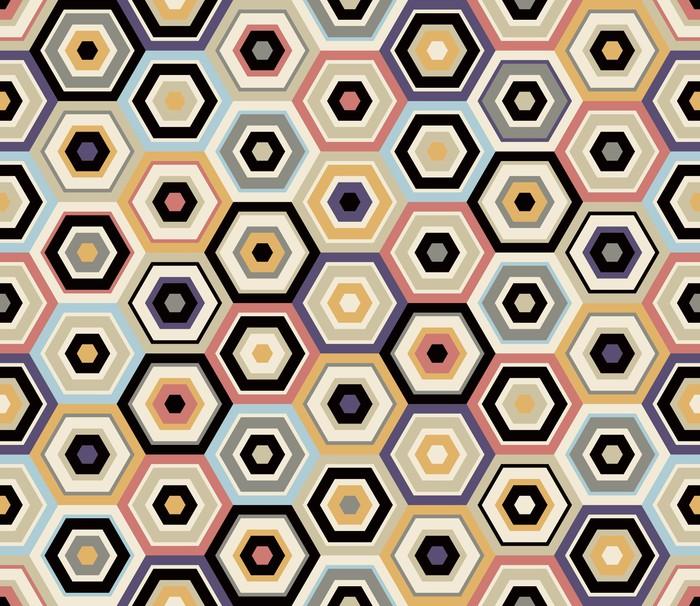 papier peint motif hexagonal transparente pixers nous vivons pour changer. Black Bedroom Furniture Sets. Home Design Ideas