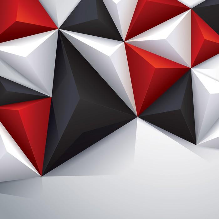 fototapete schwarz rot und wei geometrischen hintergrund pixers wir leben um zu ver ndern. Black Bedroom Furniture Sets. Home Design Ideas
