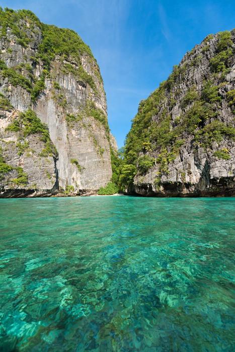 Vinylová Tapeta Clear Water v Koh Phi Phi Le - Asie