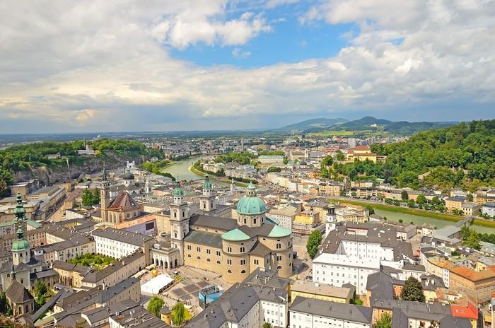Vinylová Tapeta Salzburg, Rakousko - Evropa