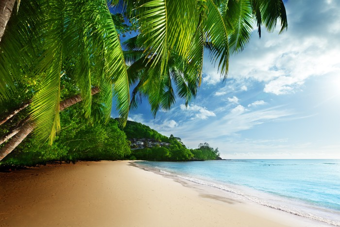 Anse Takamaka Beach, Mahe Island, Seychelles загрузить