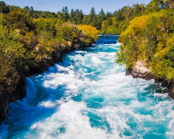 Vinylová Tapeta Huka Falls na řece Waikato nedaleko Taupo - Témata
