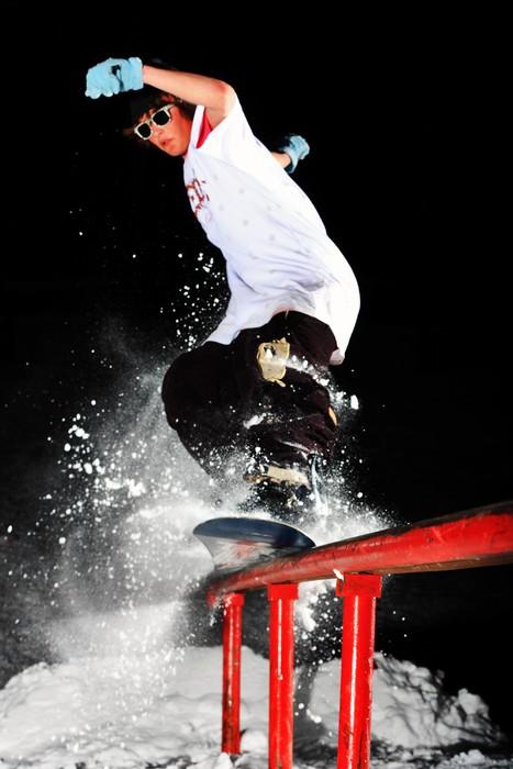 Vinylová fototapeta Snowboard - Vinylová fototapeta