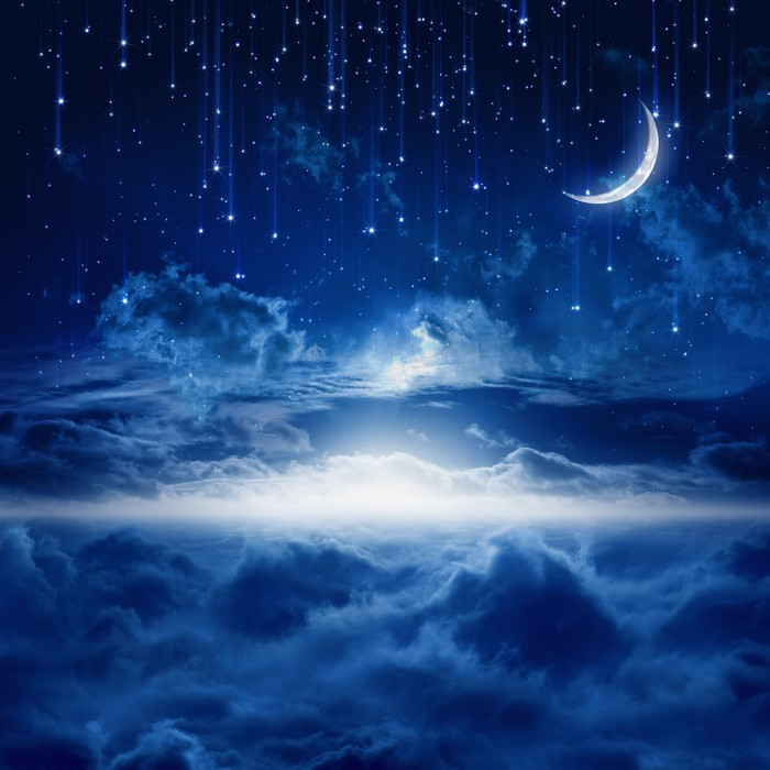 Beautiful Night Sky Wall Mural Pixers 174 We Live To Change