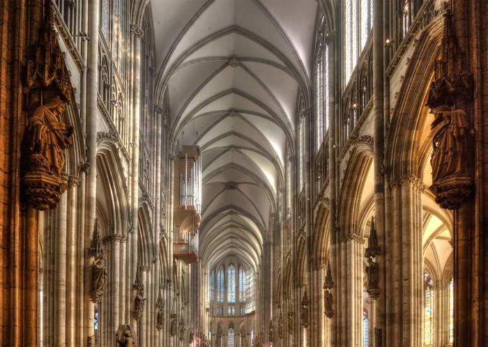 Fotobehang Dom van Keulen Interieur Vault • Pixers® - We leven om te ...