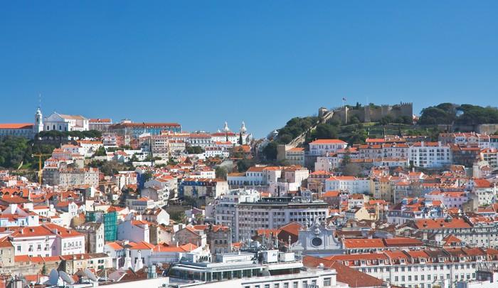 Vinylová fototapeta Panorama city.Lisbon. Portugalsko - Vinylová fototapeta