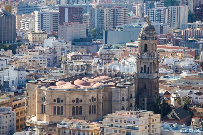Vinylová Tapeta Slavná katedrála Malaga - Evropa