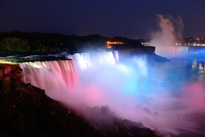 Niagara Falls In Colors Wall Mural Pixers 174 We Live To