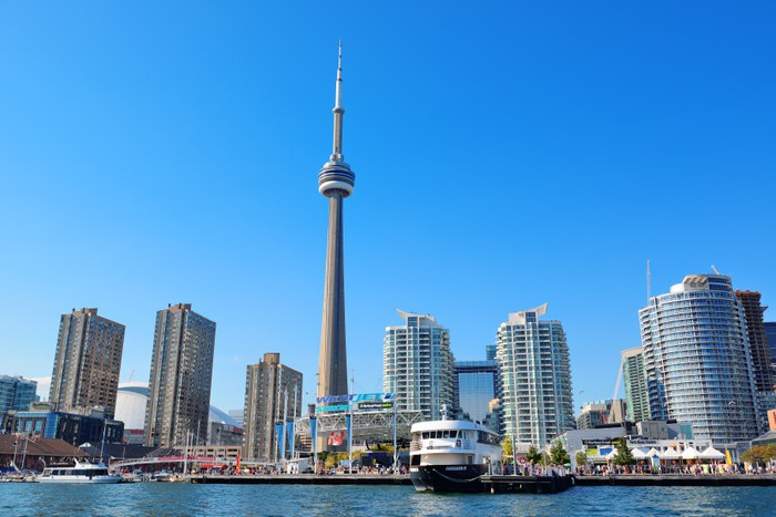 Vinylová Tapeta Toronto architektura - Jiné