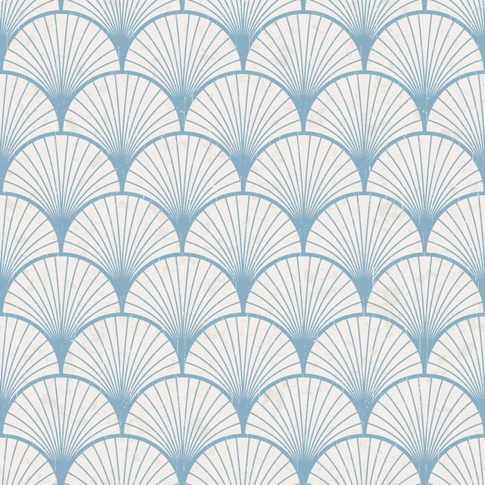 Seamless Retro Japanese Pattern Texture Wall Mural