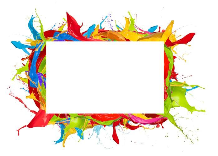 papier peint cadre de couleur pixers nous vivons pour changer. Black Bedroom Furniture Sets. Home Design Ideas