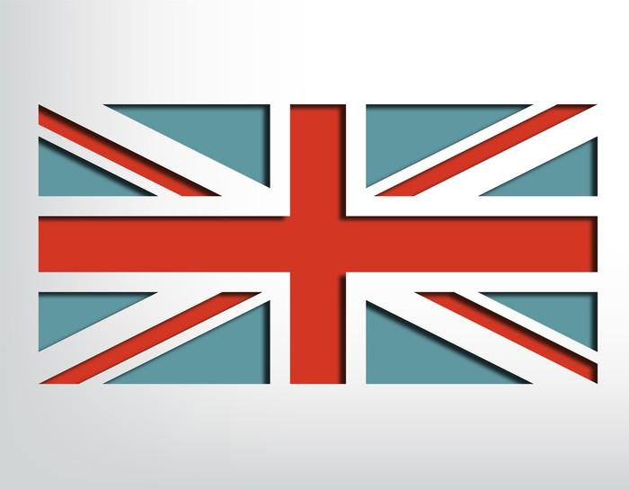 papier peint drapeau anglais pixers nous vivons pour changer. Black Bedroom Furniture Sets. Home Design Ideas