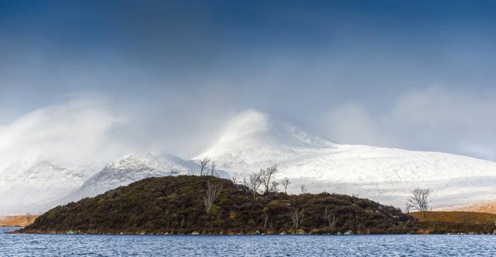 Vinylová Tapeta Loch Ba, skotské vysočině - Hory